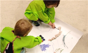 Link to event Open Studio for Toddlers – Avoin studio taaperoille -työpajat