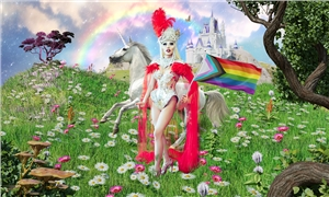 Linkki tapahtumaan LIVE STREAM | The Second Extravaganza Queer Gala by Betty Fvck – Helsinki Pride