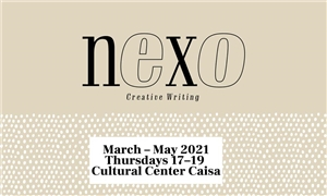 Link to event Nexo Creative Writing – Creative writing workshop